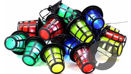 Garthen 40762 Barevné osvětlení - 20 LED lucerniček - 5 m