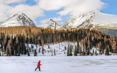 Vysoké Tatry u skiareálu ve Vile Hana s polopenzí a slevou do termálů Vrbov
