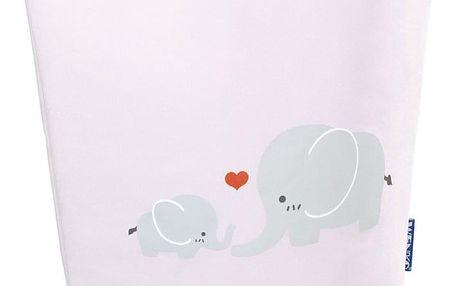 Taška na špinavé prádlo, hračky ELLI PINK, motiv dětský - 2v1, WENKO