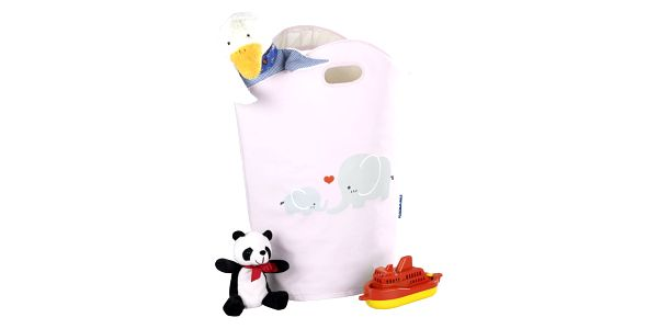 Taška na špinavé prádlo, hračky ELLI PINK, motiv dětský - 2v1, WENKO3