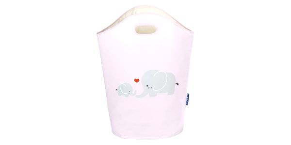 Taška na špinavé prádlo, hračky ELLI PINK, motiv dětský - 2v1, WENKO4