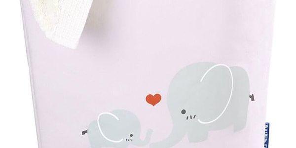 Taška na špinavé prádlo, hračky ELLI PINK, motiv dětský - 2v1, WENKO5