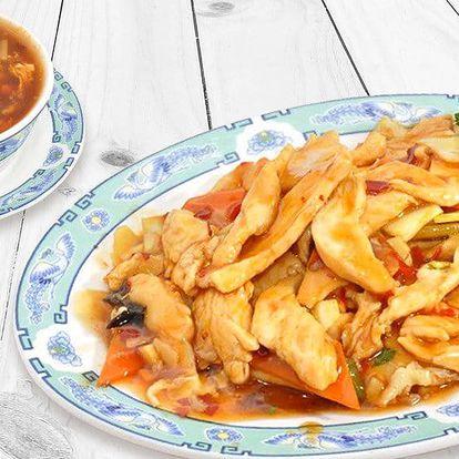 Čínské menu pro 2 osoby v restauraci Shanghai