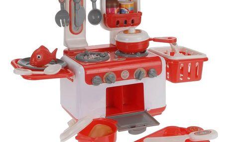 Dětská kuchyňka Cuisiné, červená