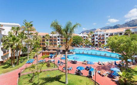 Kanárské ostrovy - Tenerife na 8 dní, bez stravy s dopravou letecky z Vídně, 200 m od pláže