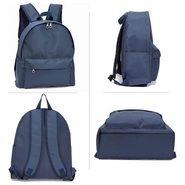 Dámský námořnicky modrý batoh Berenica 5842