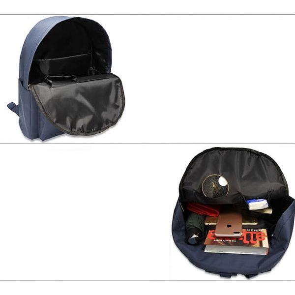 Dámský námořnicky modrý batoh Berenica 5844