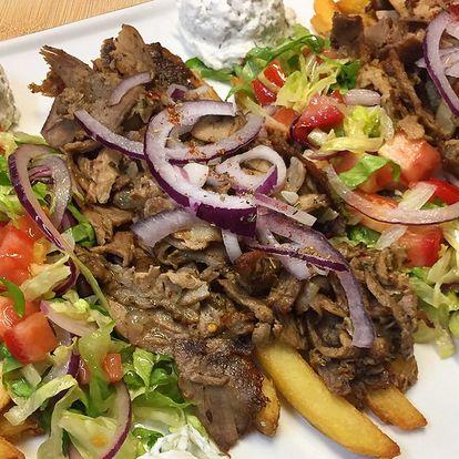 Variace gyrosu od řeckého šéfkuchaře pro dva