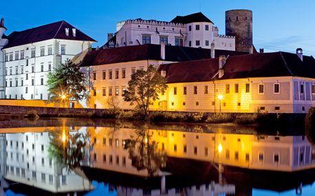 Hotel Concertino**** v centru Jindřichova Hradce blízko zámku