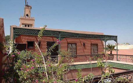 Maroko - Marrakech na 6 dní, snídaně s dopravou letecky z Prahy