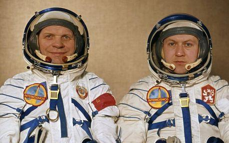 Vstupenka na přednášku kosmonauta Vladimíra Remka