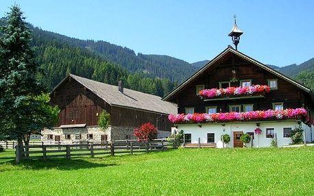 Rakousko - Salcbursko na 6 až 7 dní, bez stravy s dopravou vlastní