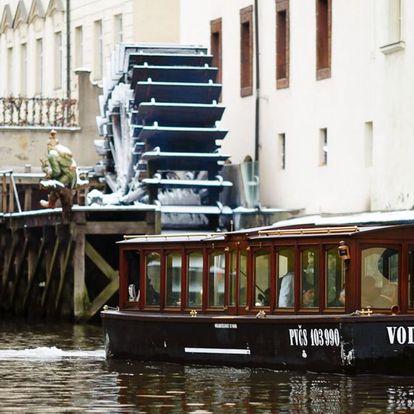 Plavba Pražskými Benátkami a vstup do muzea
