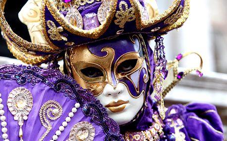 Poznávací zájezd do italských Benátek na karneval masek, La Festa Venezian sull´Acqua.