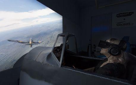 Bojový letecký simulátor