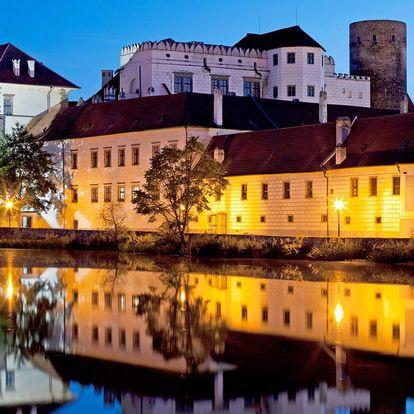 Hotel Concertino**** v centru Jindřichova Hradce u zámku