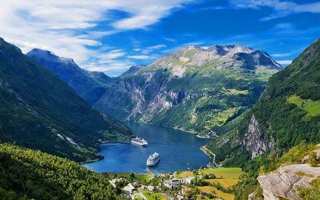 Norsko včetně Osla: doprava, ubytování na 3 noci
