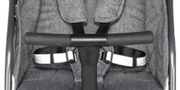 G-MINI Kočár sportovní Travel Premium Grey Melange2