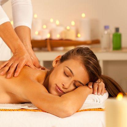 Pryč s bolestí svalů a zad: 60minutová masáž