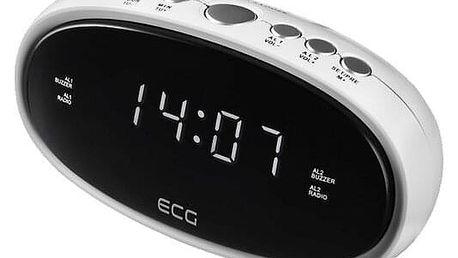 ECG RB 010 Digitální radiobudík, bílá