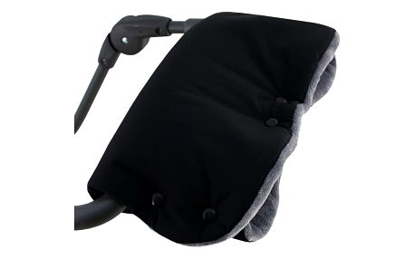 ESITO Rukávník na kočárek Magna softshell černá / šedá