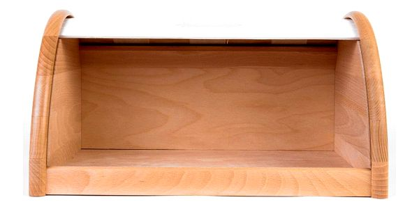 Dřevěný chlebník, box na chleba, 39x25x21cm, ZELLER3