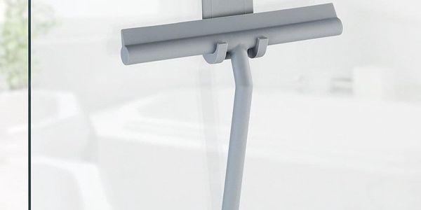 Stěrka vody MOLA na sklo a kabiny, šedá barva, WENKO3