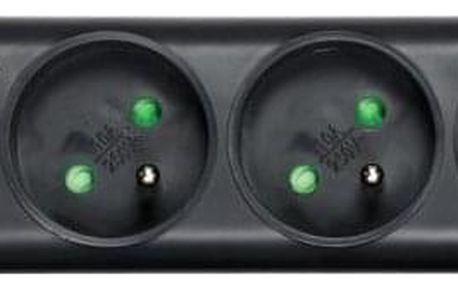 Eaton Protection Strip, 4x zásuvka, 1m černá