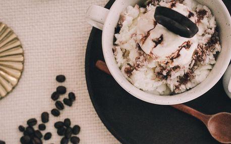 Korejské Cafe Mocha Bingsu: zmrzlina a espresso