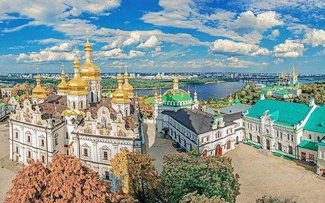 Velký okruh Ukrajinou s ubytováním a snídaní