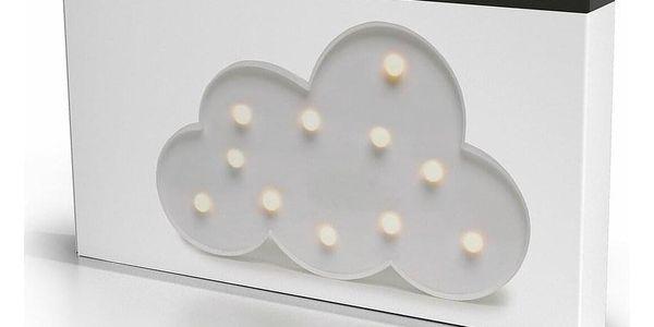 DecoKing Svíticí dekorace Mráček teplá bílá2