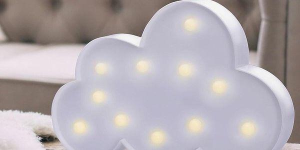 DecoKing Svíticí dekorace Mráček teplá bílá3