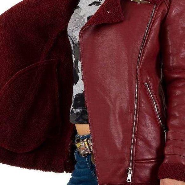 Dámská kožená bunda Noemi Kent2