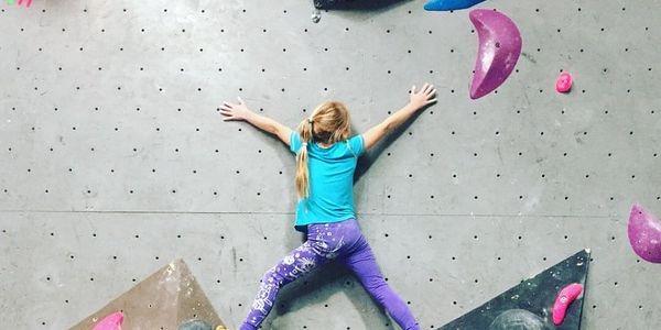 Individuální lekce lezení na stěně pro děti, Praha, 1 osoba, 1 hodina2