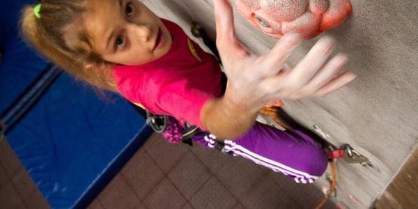 Individuální lekce lezení na stěně pro děti, Praha, 1 osoba, 1 hodina3
