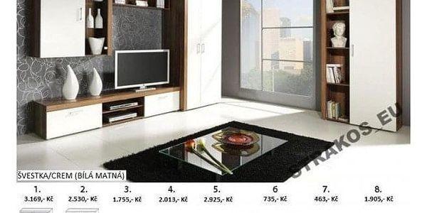 Obývací stěna STRAKOŠ S-02 crem2