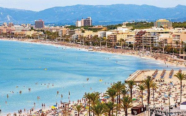 Španělsko, Mallorca, letecky na 6 dní snídaně4