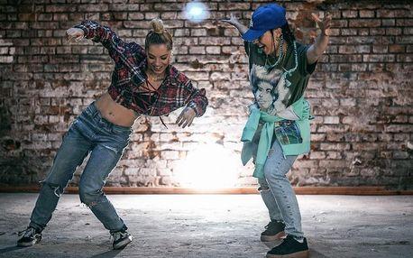 Měsíční vstup na Street Dance pro začátečníky