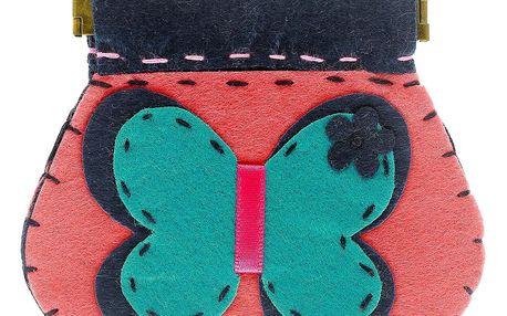 Fashion Icon Peněženka Motýl flísová na magnet