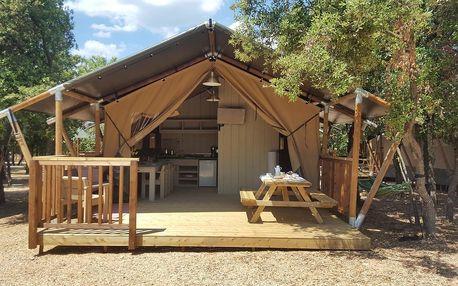 Chorvatsko - Severní Dalmácie: Glamping in Camping Park Soline