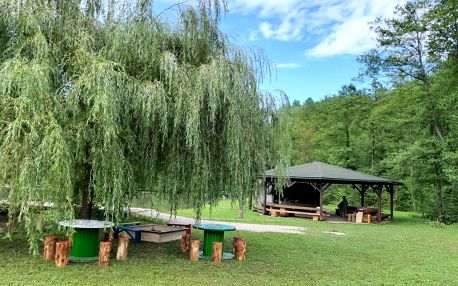 Chorvatsko - Kvarner: Robinson camp Zeleni Mir