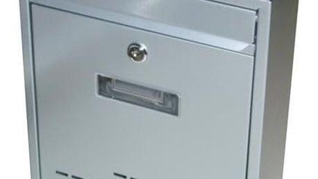 G21 RADIM Schránka poštovní malá 310x260x90mm šedá