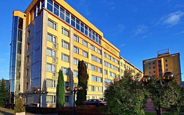 2 noci pro 2 osoby v pokoji Executive v Top Hotelu Praha **** se snídaní3
