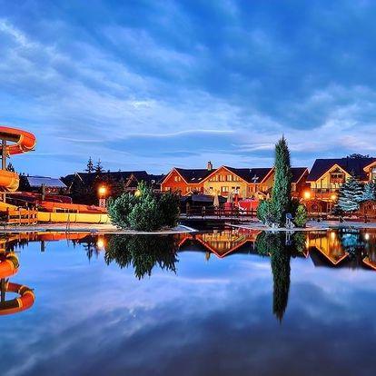 Ubytování přímo v aquaparku Bešeňová