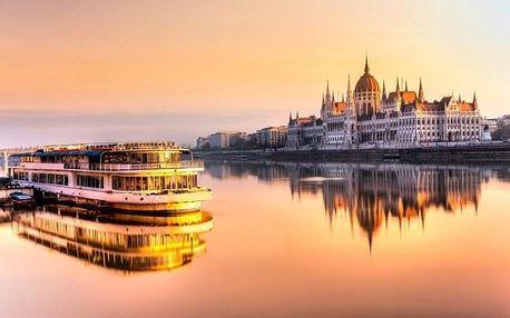 Budapešť u krásného parku v Hotelu Bobbio *** s celodenním vstupem do lázní Széchenyi, šampaňským a snídaní