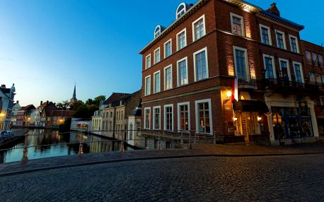 Belgie - Bruggy: Canalview Hotel Ter Reien