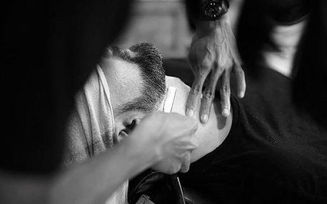 Pánský střih i holení břitvou v Prague Gentlemen's Barbershop