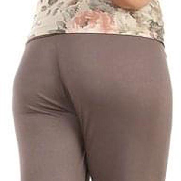 Dámské volné kalhoty lososová2