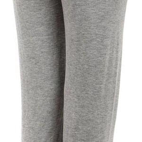 Dámské volné kalhoty lososová5