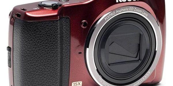 Digitální fotoaparát Kodak Friendly Zoom FZ152 červený2
